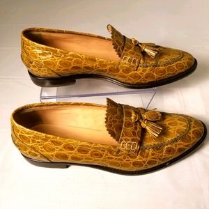 J. Crew ladies leather loafers, flats size 8